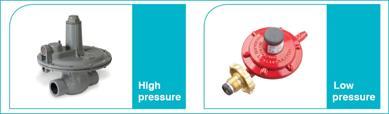 Liquefied gas pressure regulator